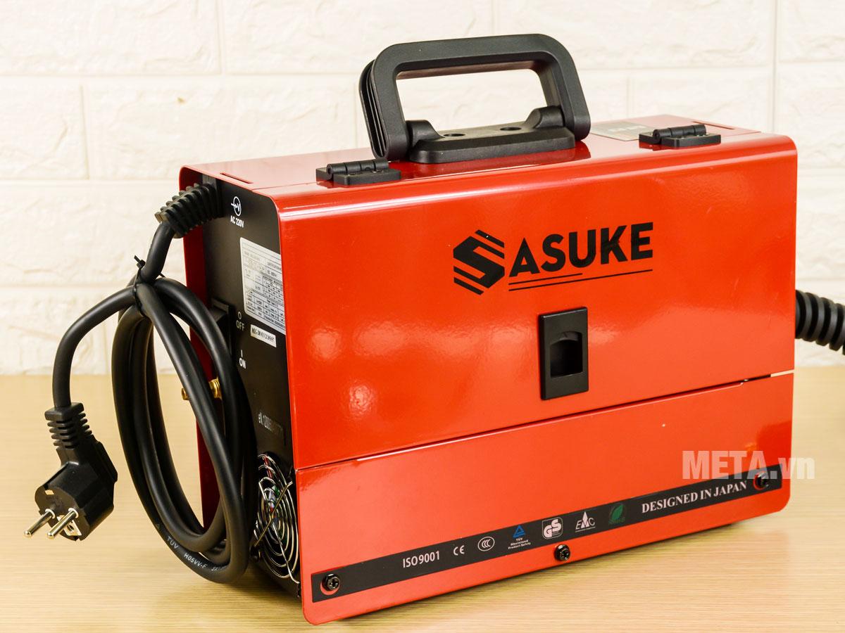 Chi tiết cấu tạo của máy hàn mig Sasuke