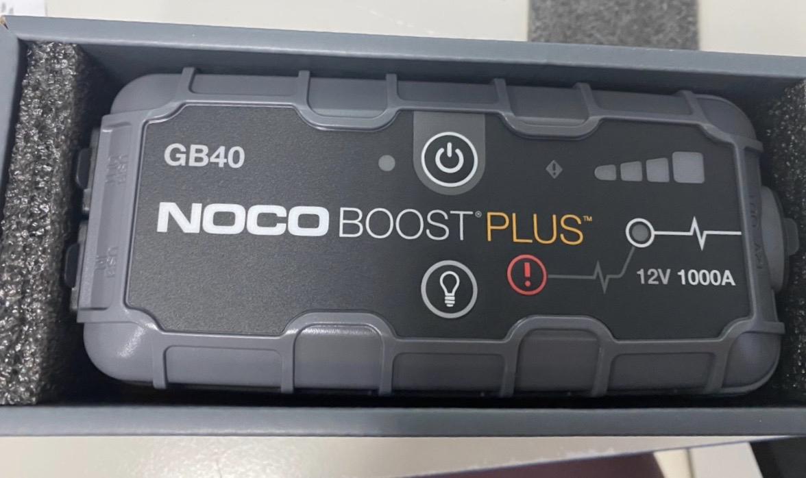 Pin dự phòng kiêm bộ khởi động xe Noco GB40