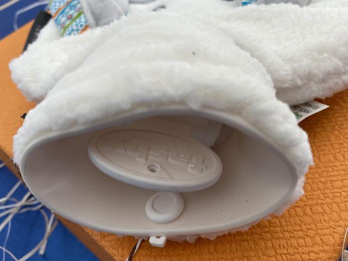 Túi chườm trẻ em Fashy họa tiết Chó trắng