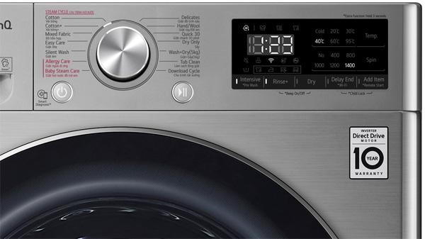 Máy giặt sấy LG FV1409G4V