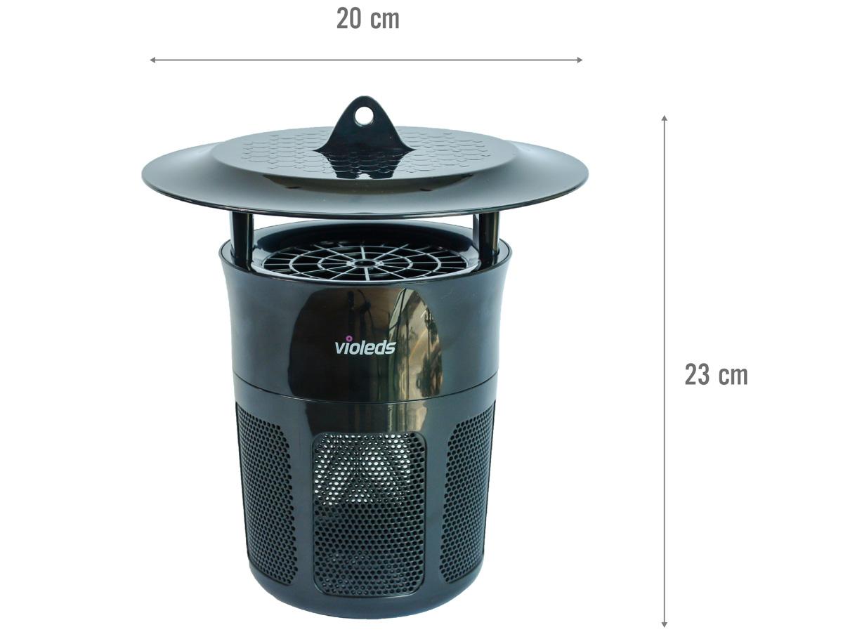 Kích thước của máy bắt muỗi