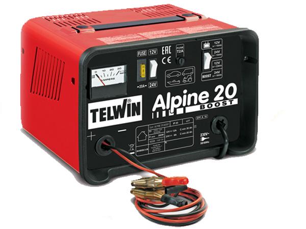 Bộ sạc bình ắc quy Telwin ALPINE 20 BOOST
