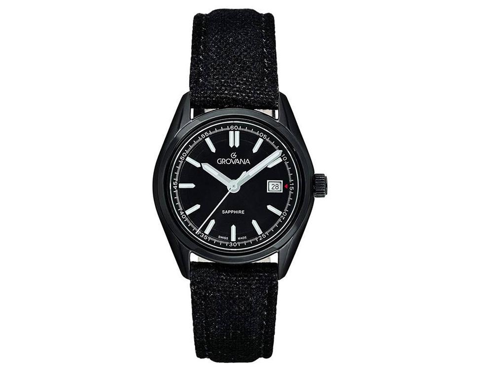 Đồng hồ Grovana 4556.1132 nữ kính Sapphire 33mm