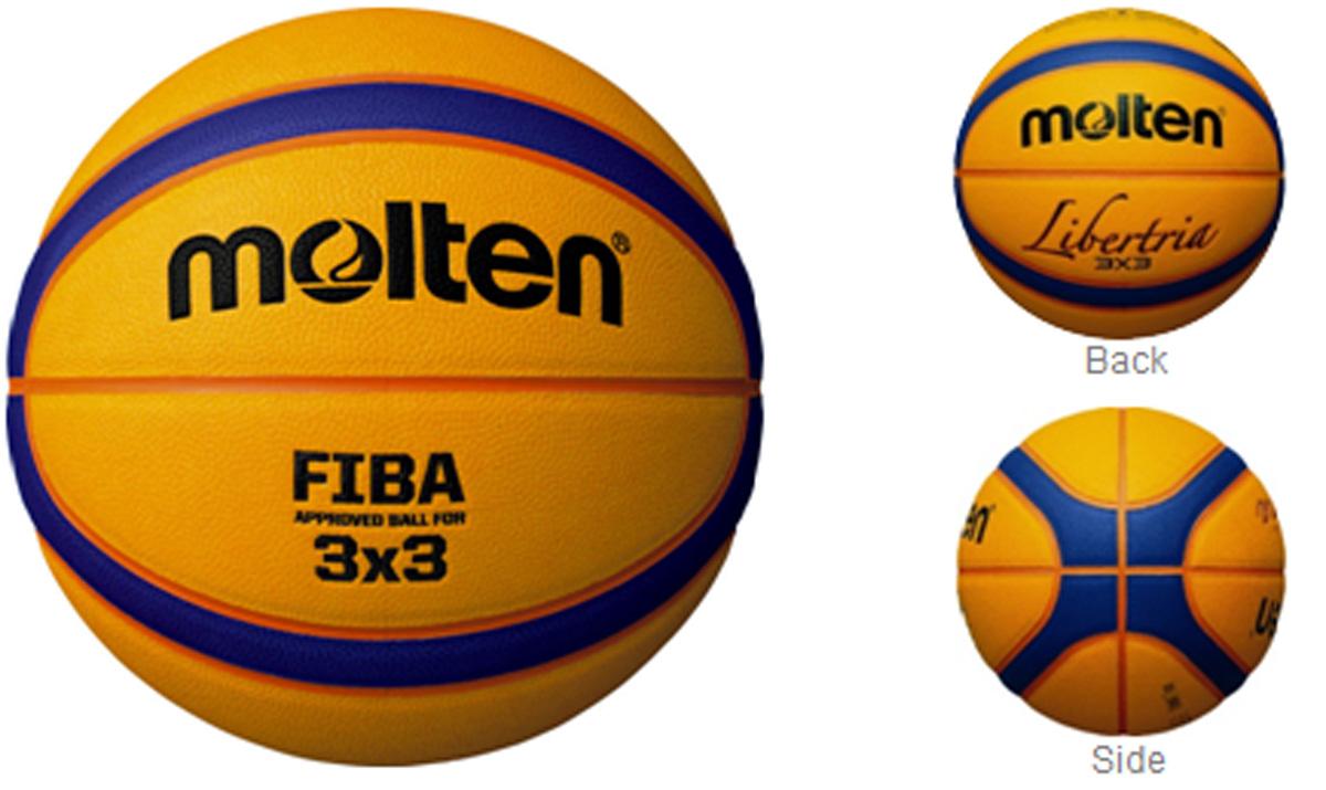 Thiết kế của bóng rổ Molten
