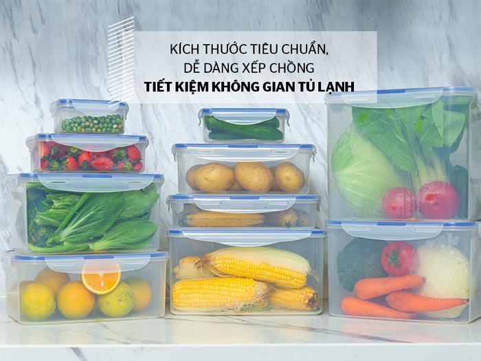 Hộp đựng bảo quản trong ngăn mát tủ lạnh