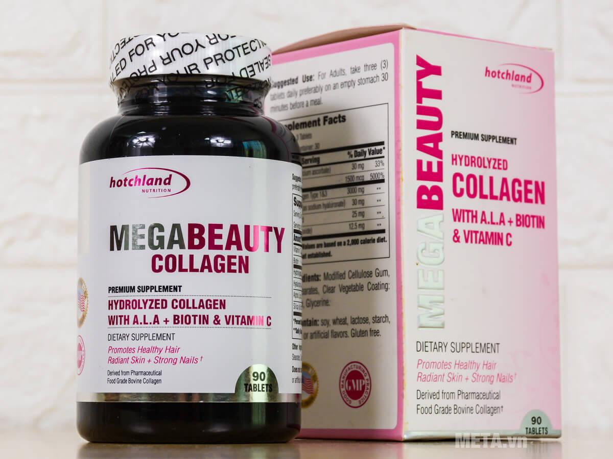 Hộp thực phẩm chức năng bổ sung collagen