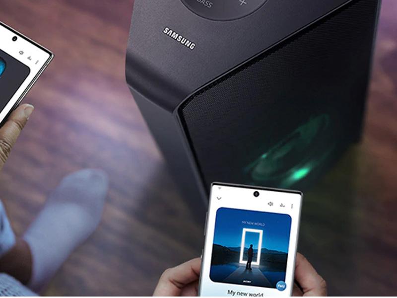 Kết nối thông minh với Smartphone