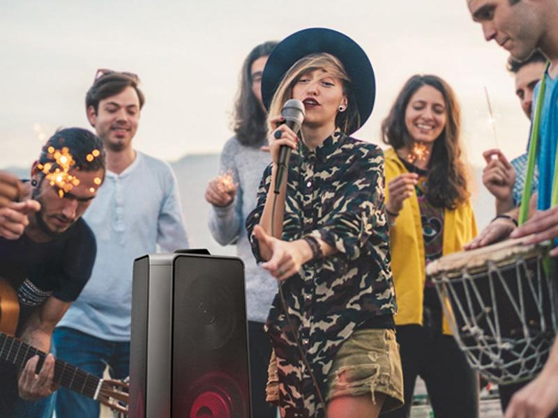 Chế độ Karaoke tiện lợi