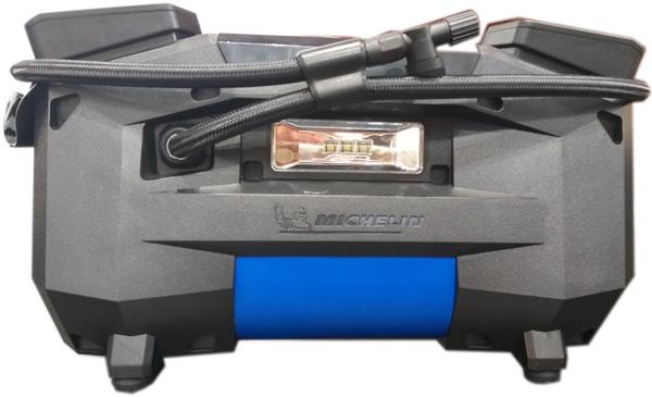 máy bơm lốp xe máy, ô tô siêu tốc tự ngắt Michelin 12314 -12V- 360W