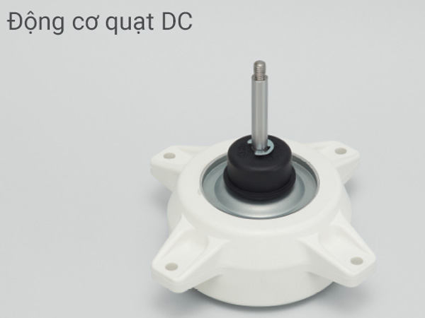 Động cơ DC giúp tiết kiệm điện năng