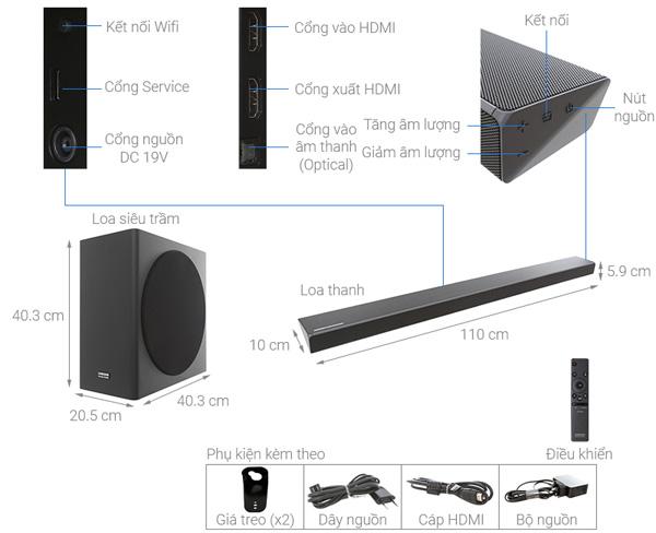Loa thanh Soundbar Samsung HW-Q70R