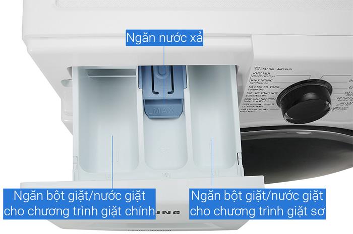 Máy giặt sấy Samsung WD95J5410AW/SV