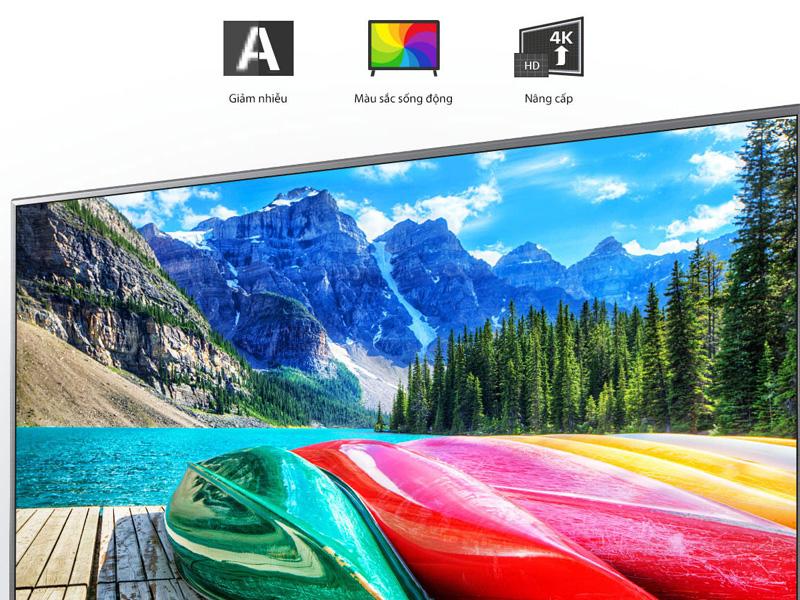 Bộ xứ lý 4K cho chất lượng hình ảnh rõ nét, sặc sỡ