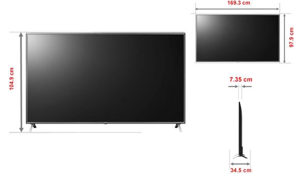 Smart Tivi LG 75UN8000PTB