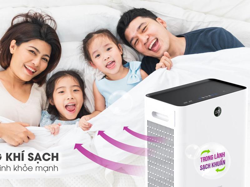 Đem lại không khí trong lành cho gia đình bạn