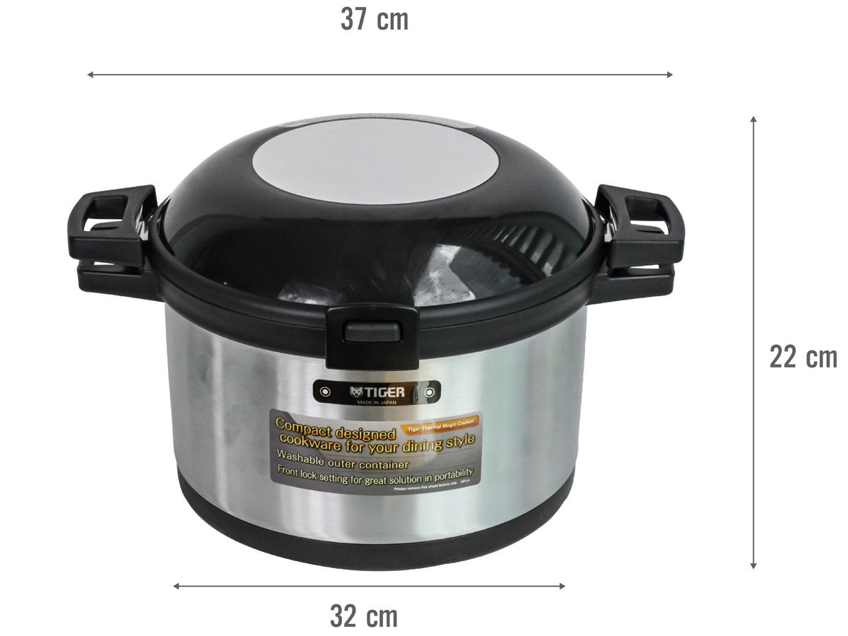 Kích thước của nồi ủ nhiệt