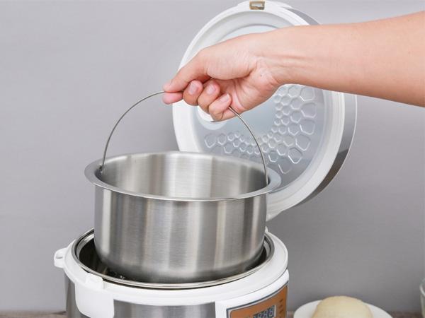 Sử dụng lõi nhỏ khi nấu tách đường