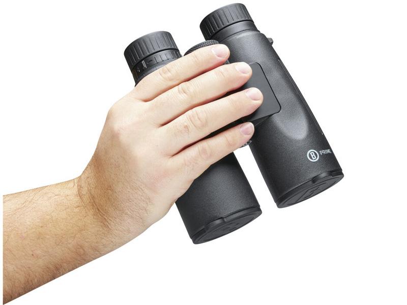 Ống nhòm có thiết kế nhỏ gọn, vừa tay cầm, thuận tiện trong quá trình di chuyển.