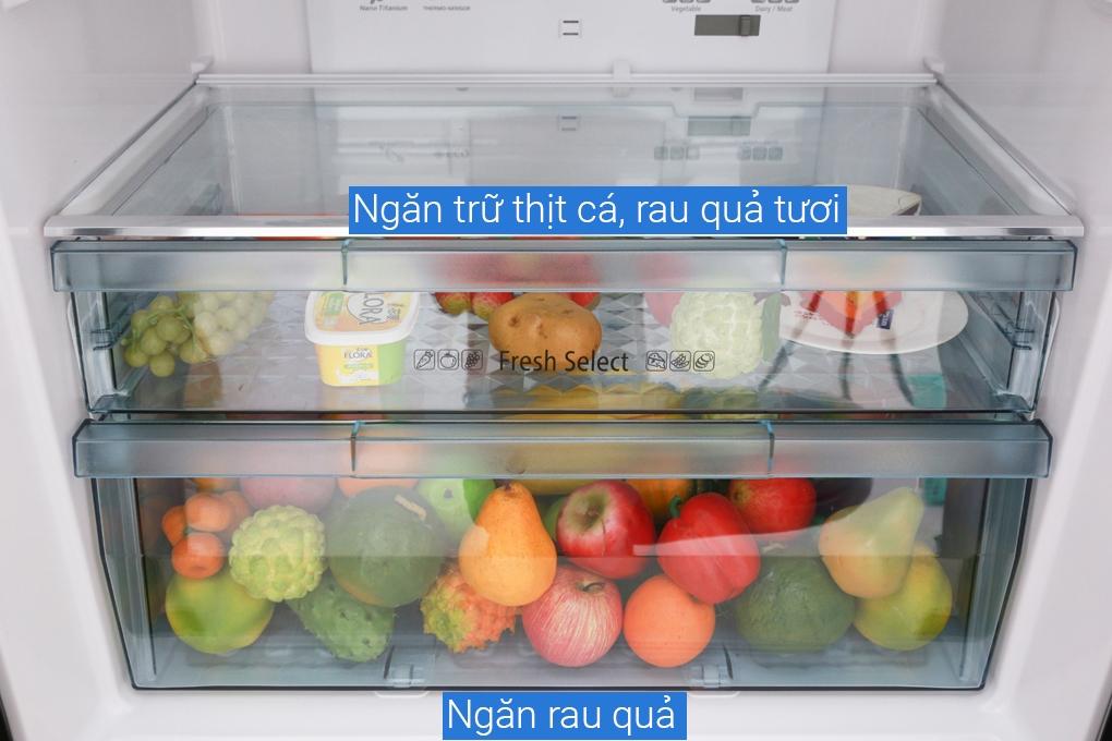 Tủ lạnh có ngăn rau củ