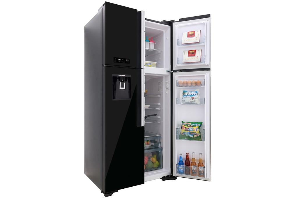 tủ lạnh màu đen