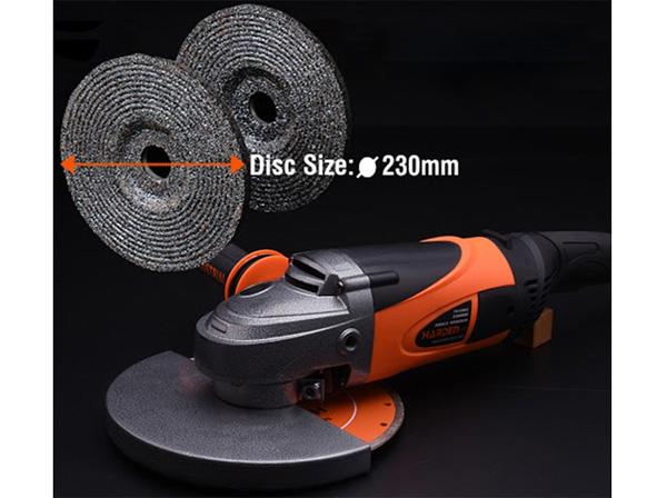 Đường kính đĩa mài là 230mm