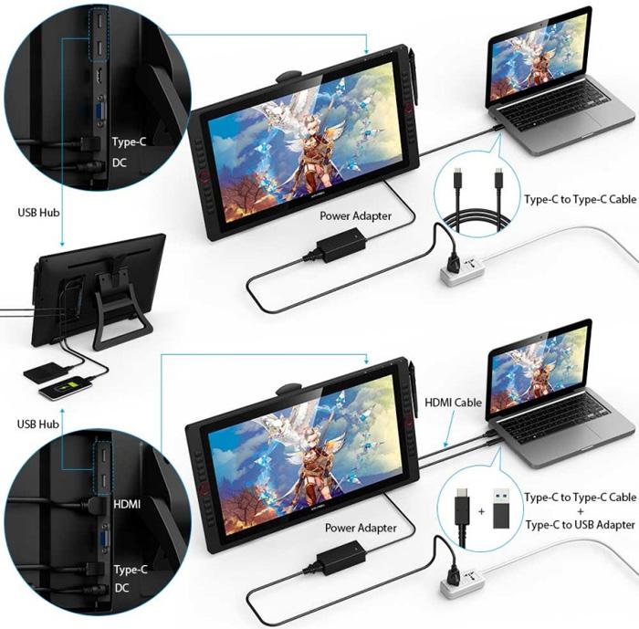 Bảng vẽ màn hình XP-Pen Artist 22R Pro
