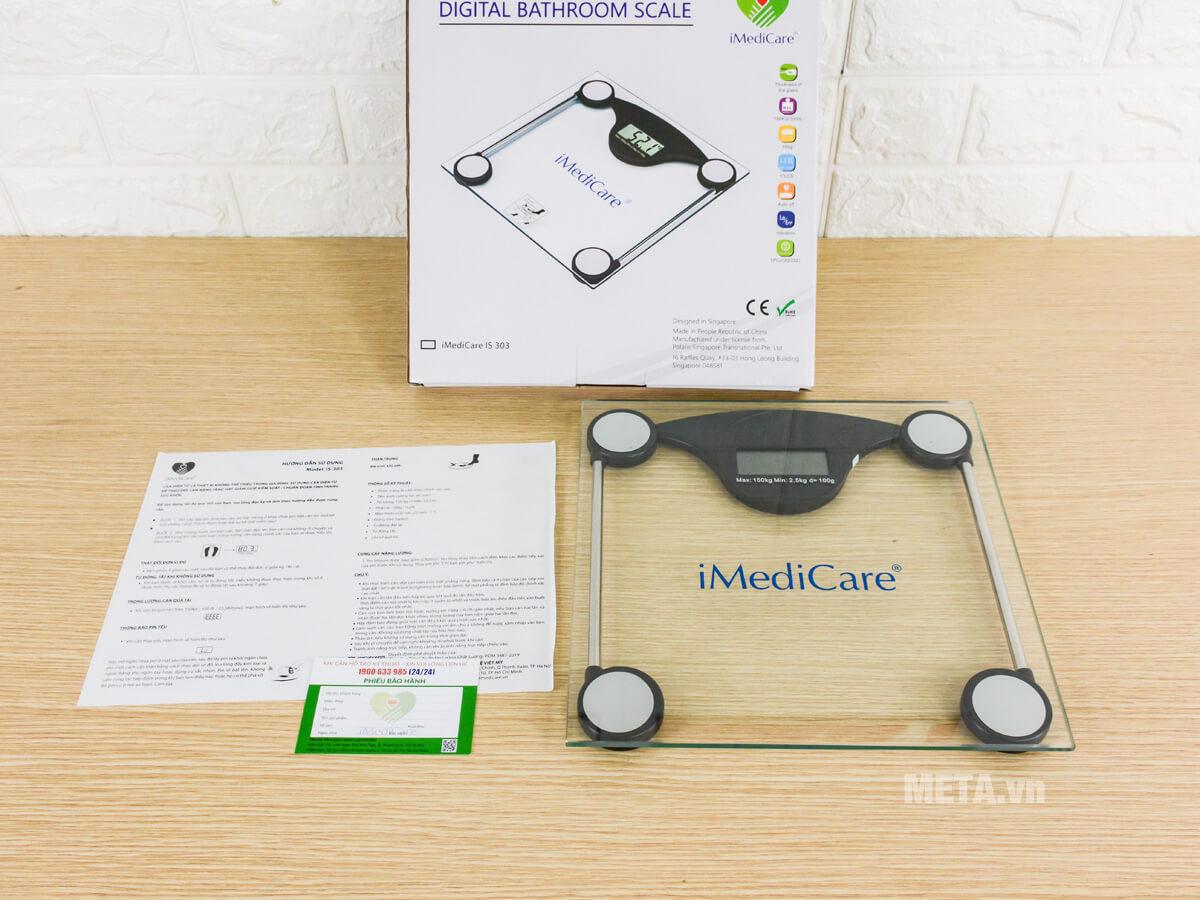 Hình ảnh bộ sản phẩm cân điện tử iMedicare