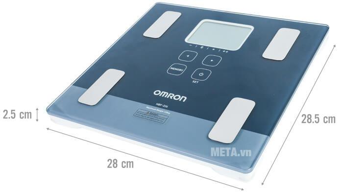 Cân đo lượng mỡ cơ thể Omron HBF-224