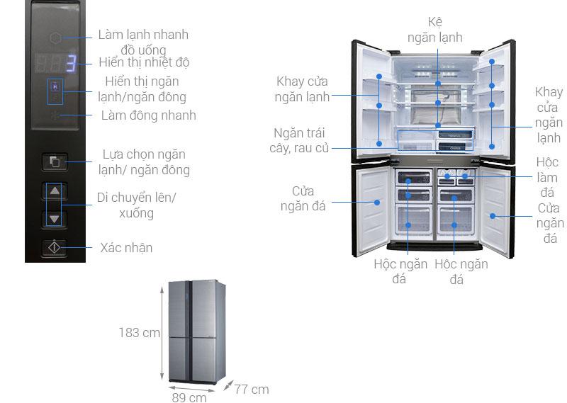 Tủ lạnh dung tích lớn