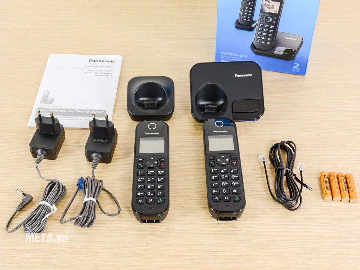 Điện thoại Panasonic KX-TGC412CX