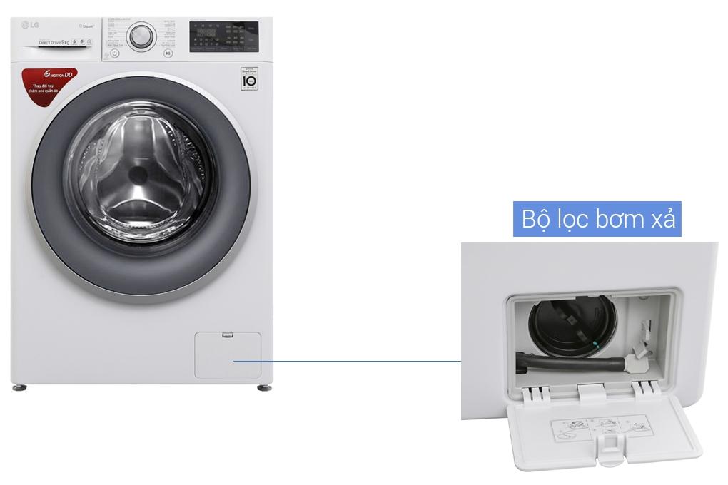 Bộ lọc bơm xả của máy giặt
