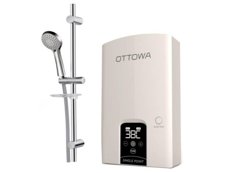 Máy nước nóng trực tiếp có bơm trợ lực OTTOWA TH45P01