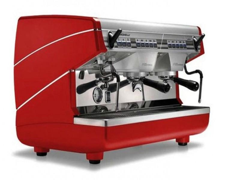 Máy pha cà phê màu đỏ