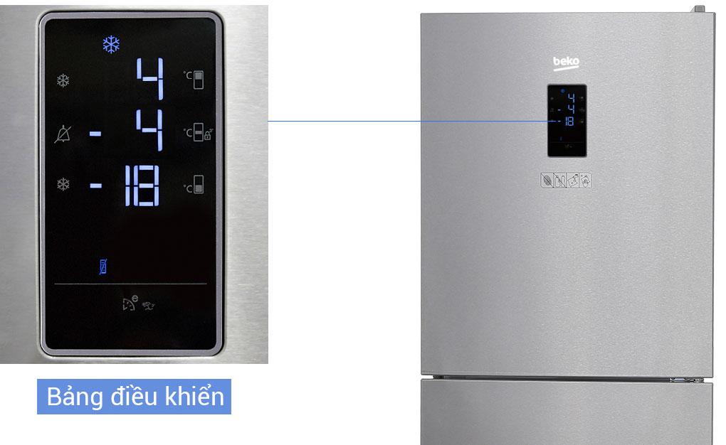 Tủ lạnh điều khiển cảm ứng