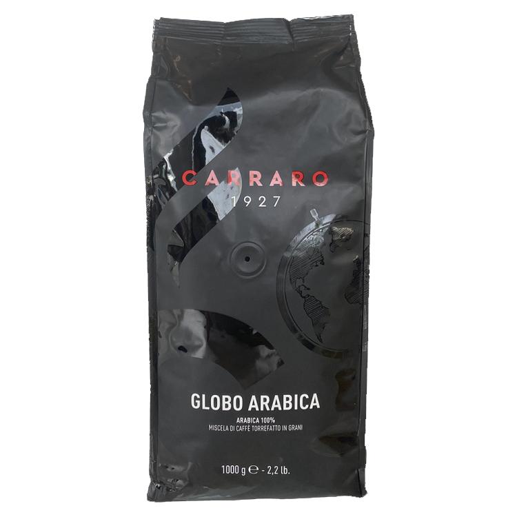 Cà phê hạt Carraro Globo Arabica 1000g là loại cà phê sạch nguyên chất.