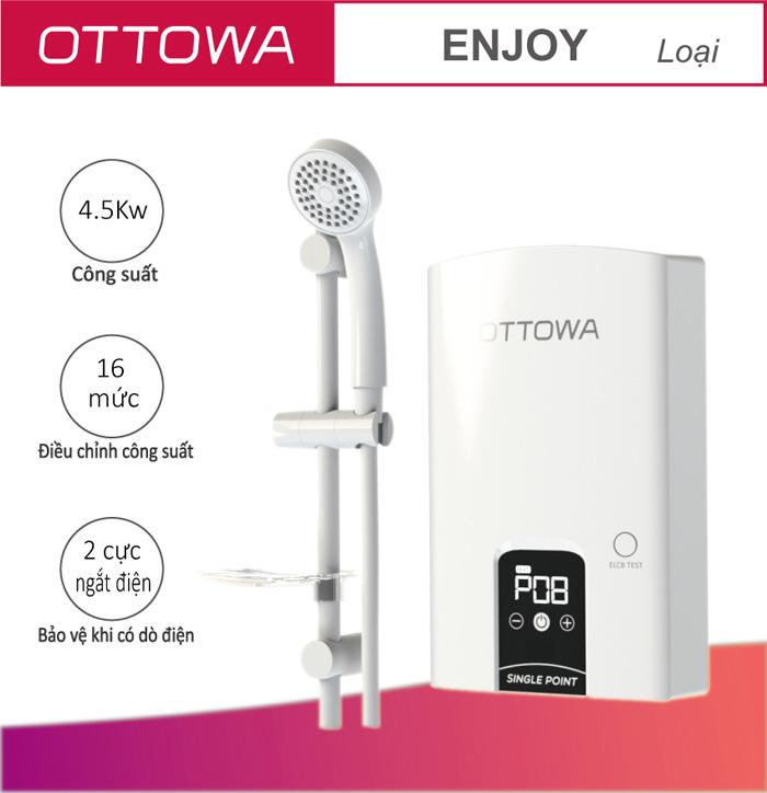 Máy nước nóng OTTOWA TE4501
