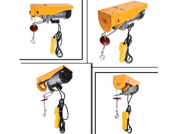 Tuân thủ an toàn lao động khi sử dụng tời điện