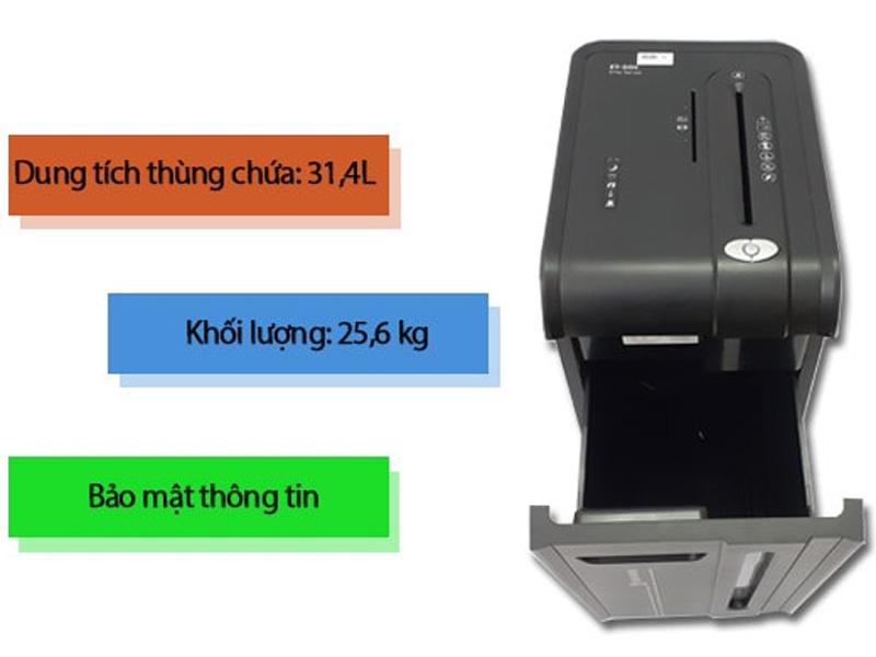 Những tính năng nổi bật của máy hủy tài liệu