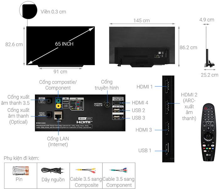 Smart Tivi LG 65CXPTA