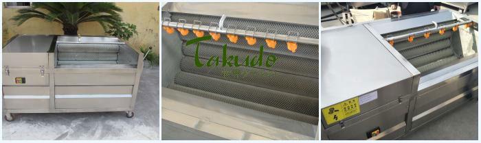 Máy sục rửa gừng, nghệ Takudo TKD-GX-1800