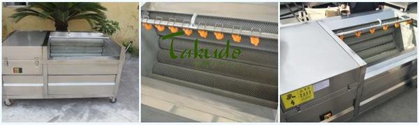 Máy có thiết kế tiện lợi phù hợp với các loại nông sản khác nhau