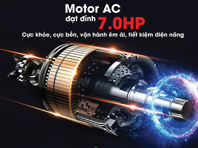 Động cơ 7.0 HP cực bền, khỏe
