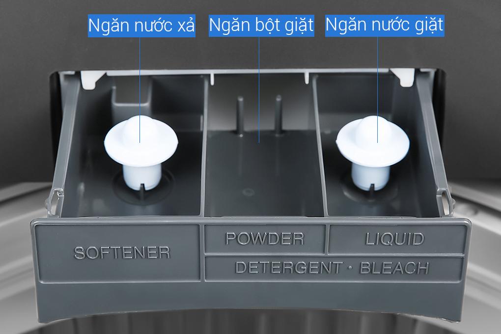 Máy giặt cửa trên Sharp
