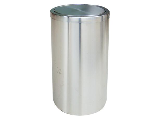 Thùng rác inox trắng nắp lật Paloca (300mm x 600mm)