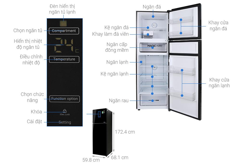 Cấu tạo của tủ lạnh