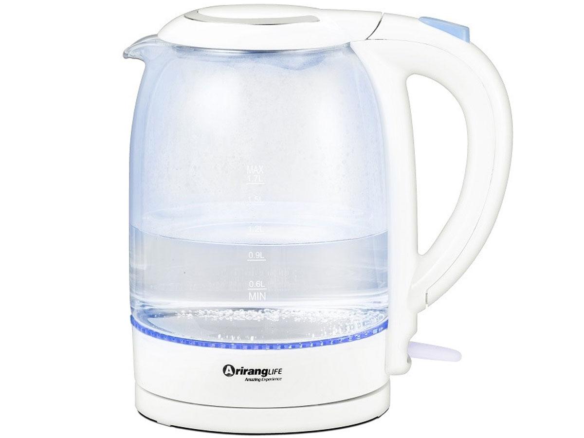 Âm đun nước thủy tinh