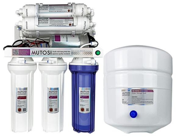 Máy lọc cho chất lượng nước tinh khiết và an toàn với sức khỏe người tiêu dùng