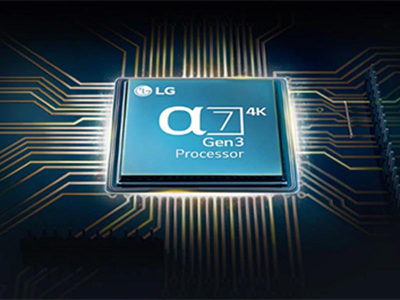 Công nghệ xử lý AI a7 Gen3 thông minh