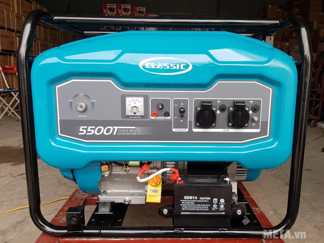 Máy phát điện chạy xăng Classic CLA-5500E