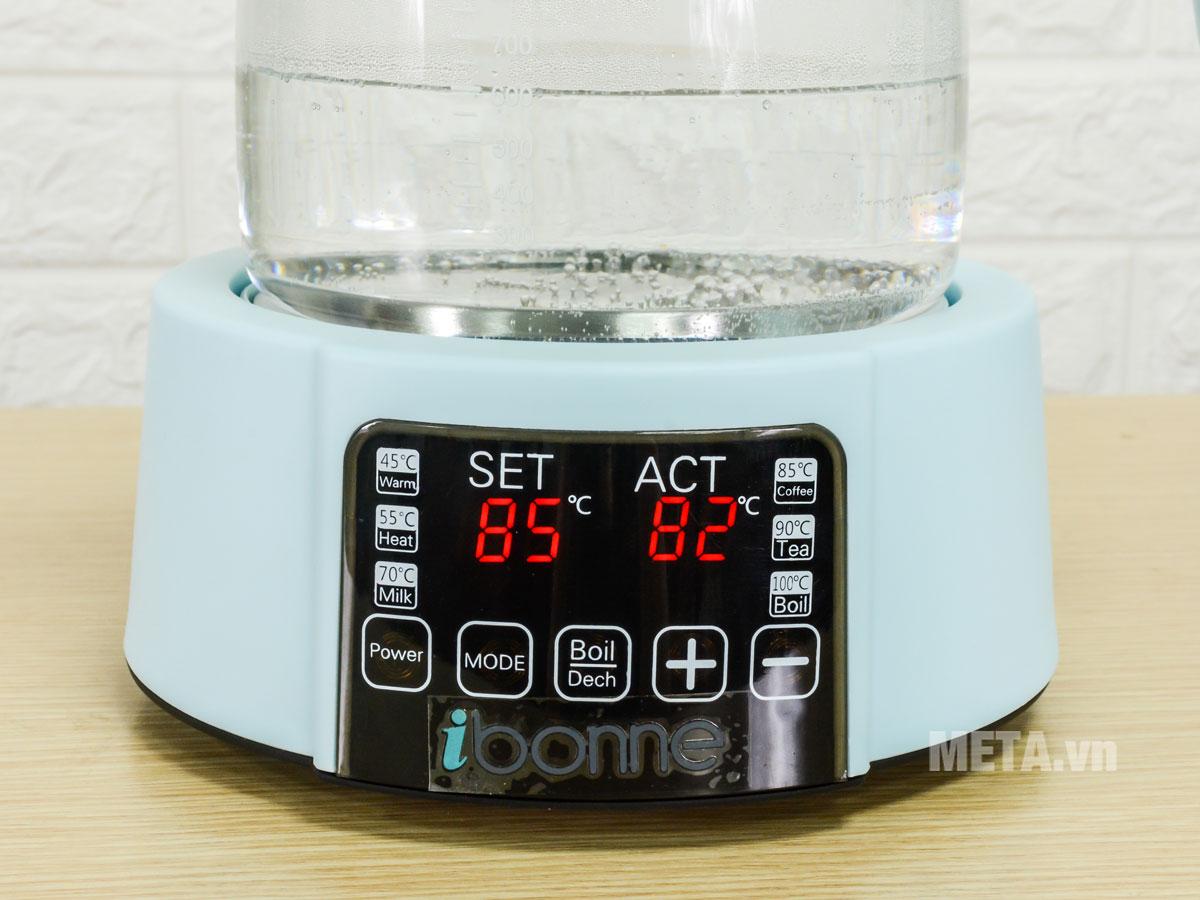 Bình đun nước thủy tinh